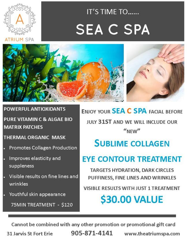 SEA C SPA PROMOTION